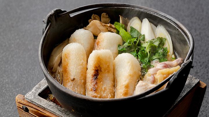比内地鶏きりたんぽ鍋セット(2人前)