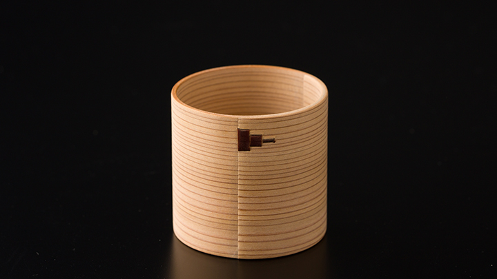 白木ぐいのみ&六角杉箸