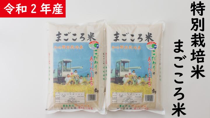 【令和2年産】秋田県特別栽培米あきたこまち「まごころ米」10kg