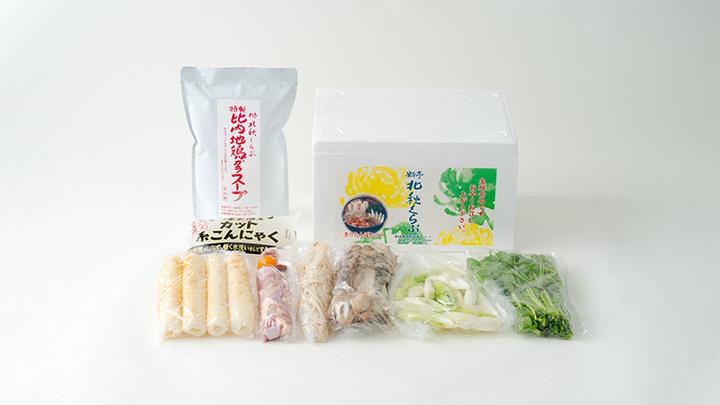 きりたんぽ鍋セット(2人前)