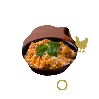 比内地鶏親子丼イメージ